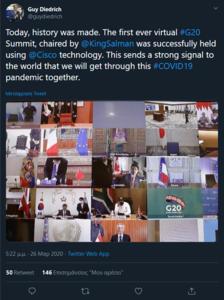 Πατήστε στην εικόνα για να τη δείτε σε μεγέθυνση.  Όνομα:  Screenshot_2020-03-26 Ο χρήστης Guy Diedrich στο Twitter Today, history was made The .png Εμφανίσεις:  62 Μέγεθος:  644,7 KB ID: 213266