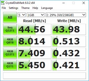 Πατήστε στην εικόνα για να τη δείτε σε μεγέθυνση.  Όνομα:  samsung evo 256GB U3.png Εμφανίσεις:  0 Μέγεθος:  33,6 KB ID: 200841