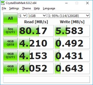 Πατήστε στην εικόνα για να τη δείτε σε μεγέθυνση.  Όνομα:  samsung evo+ 128GB U1 (kingston g3 reader).png Εμφανίσεις:  0 Μέγεθος:  34,1 KB ID: 200842