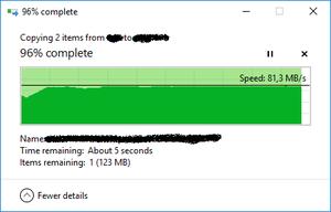 Πατήστε στην εικόνα για να τη δείτε σε μεγέθυνση.  Όνομα:  samsung evo 256GB U3 (kingston g3 reader) windows copy.png Εμφανίσεις:  2 Μέγεθος:  7,3 KB ID: 200844